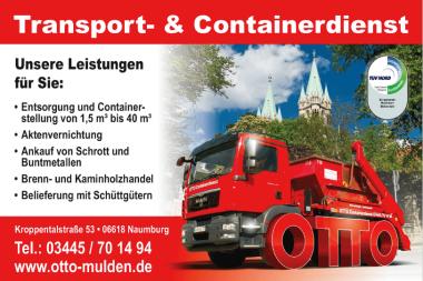 Containerdienst Burgenlandkreis