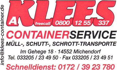Container Service Klees
